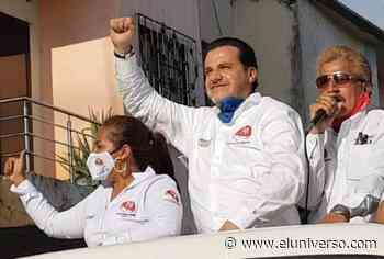 Giovanny Andrade, candidato por Unión Ecuatoriana, cerró sus actividades en Machala - El Universo