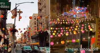 NY Chinatown Looks Magical After Being Lit Up with Hundreds of Lanterns - Yahoo News