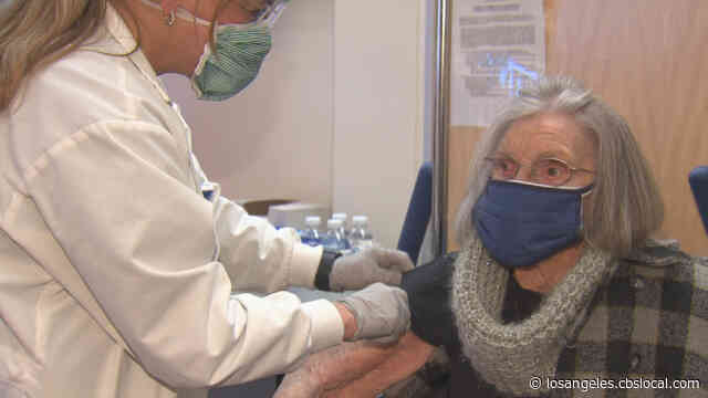103-Year-Old Woman Plans To 'Go Wild' After Receiving COVID Vaccine