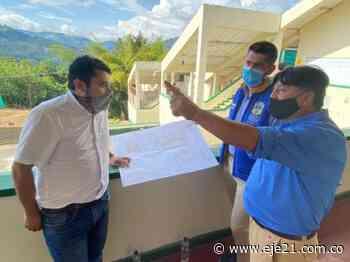 Iniciaron obras en el megacolegio Santo Tomás de Aquino de Apía - Eje21