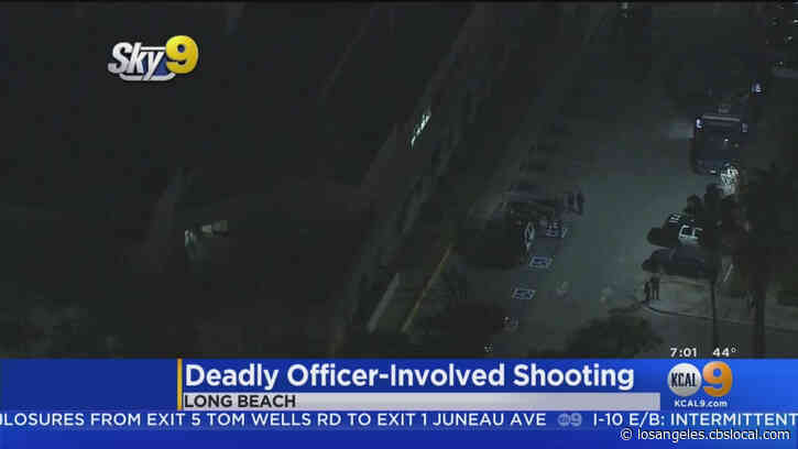 Alleged Gun-Wielding Suspect Killed In Officer-Involved Shooting In Long Beach
