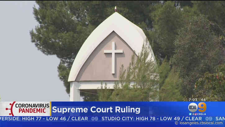 California Revises Indoor Church Guidelines After Supreme Court Ruling
