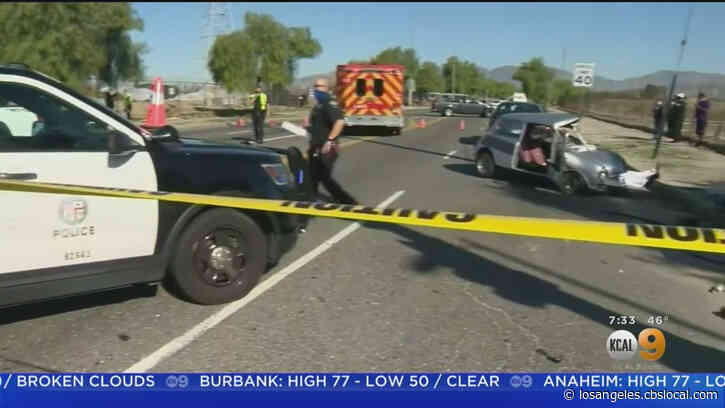 Search Continues For Suspects In Deadly Hit-And-Run In Sun Valley