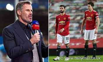 'They've bottled it': Jamie Carragher says Manchester united have thrown away their title chances