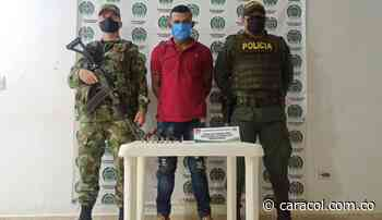 Capturado presunto integrante del Clan del Golfo en Tiquisio, Bolívar - Caracol Radio