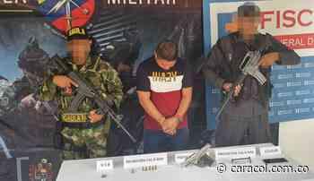 Capturan presunto responsable de ataque a patrulla militar en Cumbitara - Caracol Radio