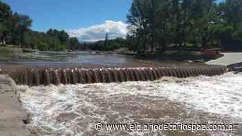 La esperada creciente entró al río de Carlos Paz - El Diario de Carlos Paz
