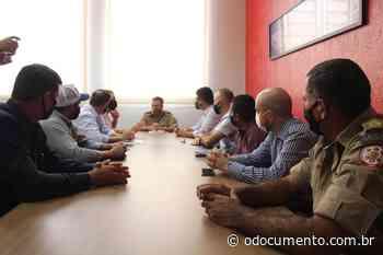 Canarana apresenta proposta para criação de unidade dos Bombeiros no município - O Documento