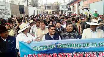 PCM y autoridades de Tacna verán caso de Candarave   Southern Perú - LaRepública.pe
