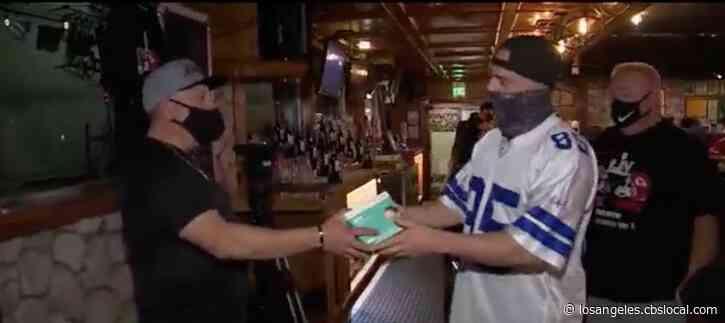 San Bernardino Bar Goes Big For Super Bowl