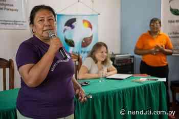 Anterior Aty con mujeres indígenas en el Yataity del Norte - Radio Ñanduti