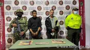 Capturado en Rioblanco alias 'Barbas' del frente Ismael Ruiz (residual de las Farc) - El Cronista