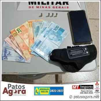 Polícia Militar prende autor por posse ilegal de munições em Monte Carmelo - Patos Agora