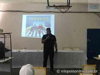 Criador do Grupamento de Trânsito de Nilópolis capacita servidores de Paracambi - Nilópolis Online