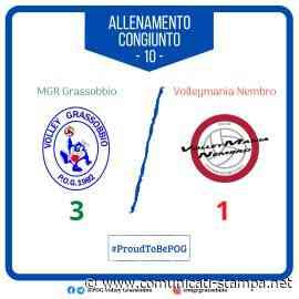 Volley SerieB: un buon segnale dall'MGR Grassobbio contro Nembro - Comunicati-Stampa.net