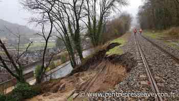 Le train entre Paris et Rodez à l'arrêt pendant au moins un mois - Centre Presse Aveyron