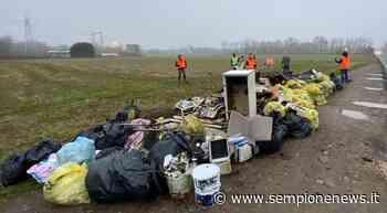 """""""Strade Pulite"""" al lavoro sulla SP109 a Pogliano Milanese: più di cento i sacchi raccolti - Sempione News"""