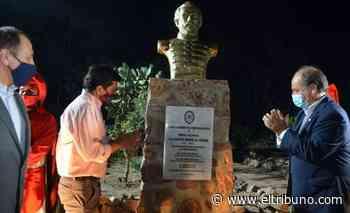 """En finca """"El Paraiso"""", donde creció Güemes, se instaló un busto del héroe nacional - El Tribuno.com.ar"""