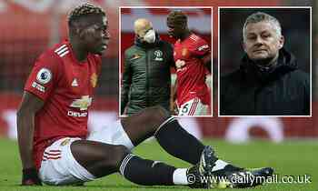 Paul Pogba  is racing to be fit for next month's Manchester derby