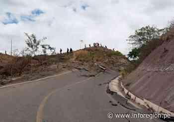 Amazonas: Movimiento de masa ocasiona daños en el distrito de Cajaruro - INFOREGION