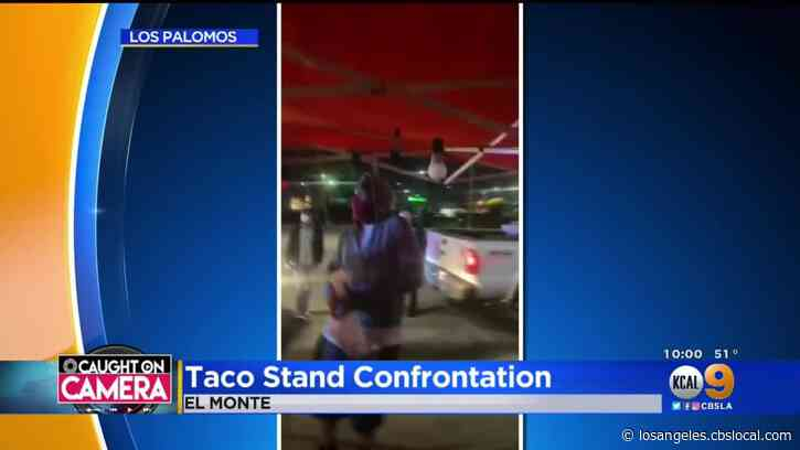 El Monte Taco Stand Owners Get Into Fight With Police, Health Inspectors