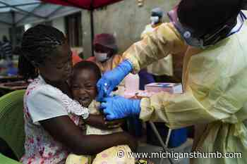 Congo working to stop new Ebola outbreak in country's east - Huron Daily Tribune