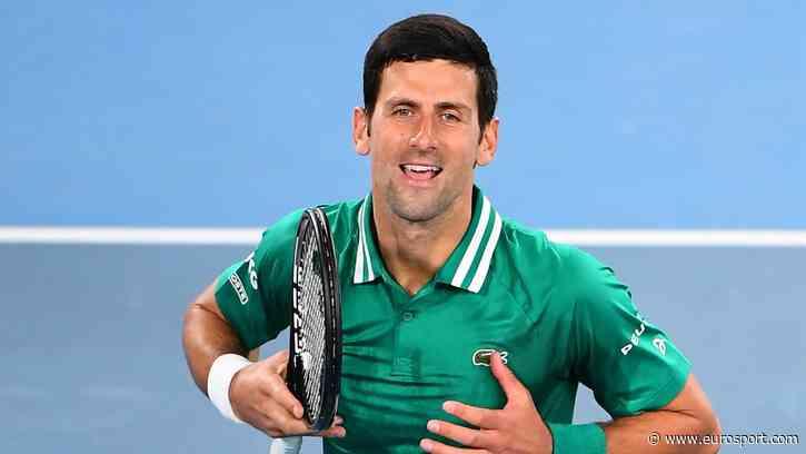 Australian Open 2021 - 'Frightening' - Dominant Novak Djokovic breezes past France's Jeremy Chardy - Eurosport COM