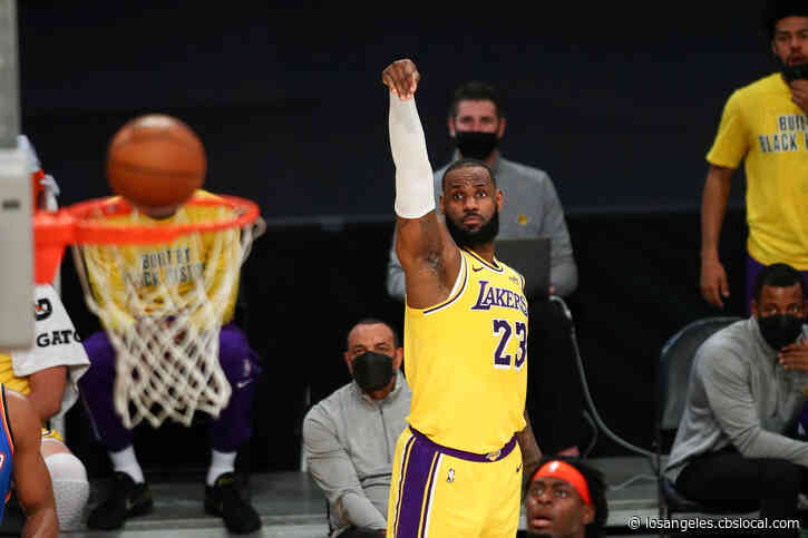 Lakers Rally Past Thunder 119-112 In OT For 5th Win In A Row
