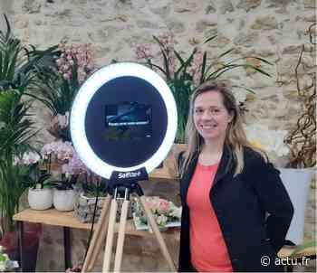 A Pacy-sur-Eure, la fleuriste loue une Selfie borne - actu.fr