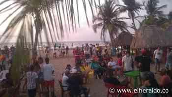 Violación de los protocolos de bioseguridad en reactivación de playa en Tolú - EL HERALDO
