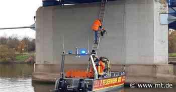 In Notlage geraten: Feuerwehr rettet zwei Arbeiter in Stolzenau - Mindener Tageblatt