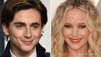 Timothée Chalamet & Jennifer Lawrence: Heiße Knutsch-Aktion am Film-Set - VIP.de, Star News