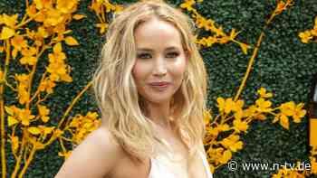 Nach Verletzung bei Explosion:Jennifer Lawrence ist wieder am Set - n-tv NACHRICHTEN