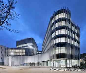 Nieuw administratief centrum van Jaspers-Eyers en BAEB vormt landmark voor Etterbeek - architectura.be