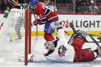 Ste-Agathe's Dubois scores twice to lead Columbus over Canadiens - Cape Breton Post
