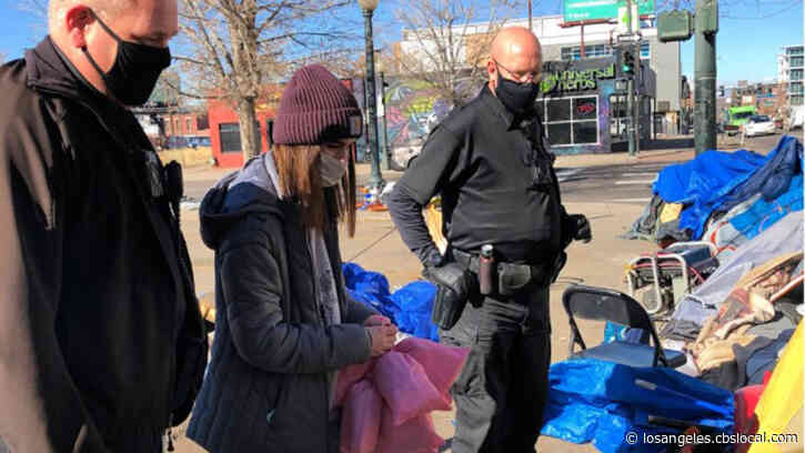 Denver High School Student Gives Feminine Hygiene Products To Homeless Women