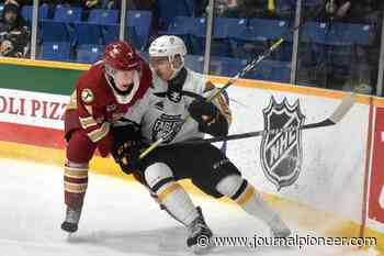 UPDATED: Cape Breton Eagles acquire Rumsey, Delafontaine in trade with Chicoutimi Saguenéens - The Journal Pioneer