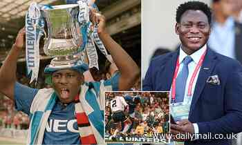 Everton legend Daniel Amokachi opens up on the incredible 1995 FA Cup semi-final