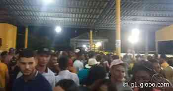 Festa gera aglomeração em Parque de Vaquejada de Itabaianinha - G1