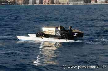 Bugatti eröffnet Rallye Monte-Carlo auf Wasserski - Presseportal.de