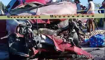 4 muertos deja accidente de tránsito en Tamalameque - Caracol Radio