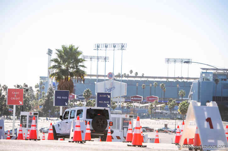 'Kind Of Embarrassing': Thousands Of Vaccine Appointments Available At Dodger Stadium After Messaging Mix-Up