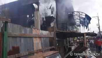 Ferretería se incendió en el municipio de Vigía del Fuerte - Telemedellín