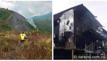 Tres incendios fueron reportados en Antioquia durante el fin de semana - Caracol Radio