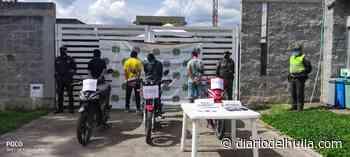 Capturados hombre y dos adolescentes por hurto de motocicleta en Timaná - Diario del Huila