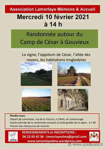 Promenade Autour du camp de César à Gouvieux mercredi 10 février 2021 - Unidivers