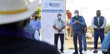Entregan nueva red de agua y drenaje en El Colomo - nnc.mx