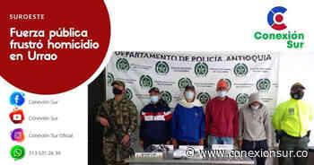 Cuatro capturados en límites de Betulia y Concordia Un operativo desarrollado de manera conjunta entre la - ConexionSur