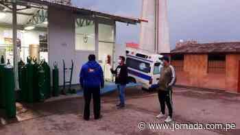 Huanta se queda sin oxígeno medicinal por abastecer a Huamanga y Huancavelica - Jornada