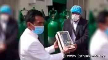 Hospital de Apoyo de Huanta recibe ventiladores mecánicos y balones de oxígeno - Jornada